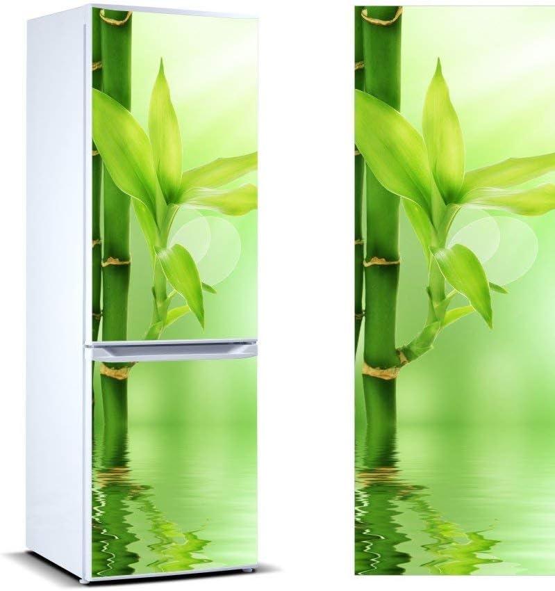 Adhesivo Resistente y de F/ácil Aplicaci/ón Oedim Pegatinas Vinilo para Frigor/ífico Bamb/ú Hojas Pegatina Adhesiva Decorativa de Dise/ño Elegante 185x60cm