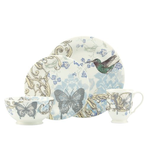 Lenox 4-Piece Collage Hummingbird Dinner Set Review