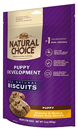 Natural Choice Puppy Development Biscuits Chicken And Whole Brown Rice Recipe - 16 Oz. (454 G)
