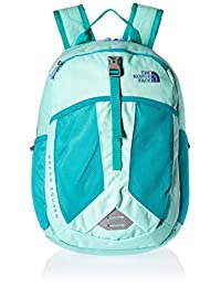 The North Face Youth Recon Squash Backpack - ice green/ion blue, one size