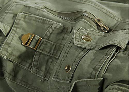 Multi Jeans Tasca Khaki E Comoda tasca Con Morbida Moda Cotone Cargo Uomo Pantaloni Multi Ssig Especial Estilo Twar6TYq