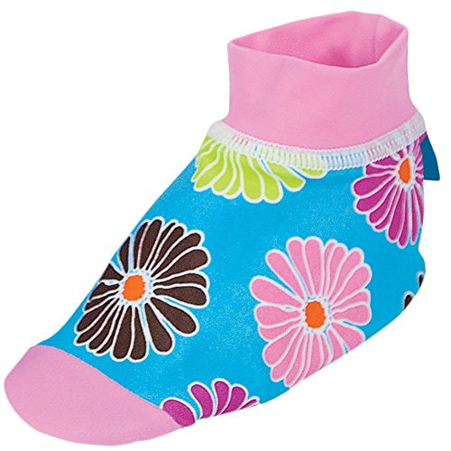 cd32e5f7ebb5 Sun Smarties Baby Girls UPF 50+ Non-Skid Sand and Water Socks Small Floral  - Buy Online in Oman.