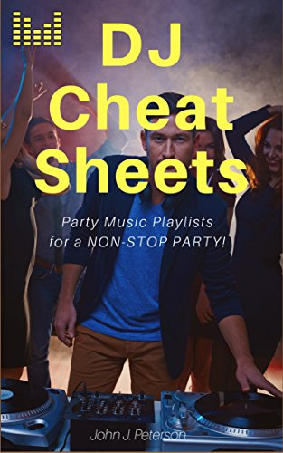 DJ Cheat Sheets: Event: Playlists/Setlists (Recording Mixes Dj)