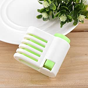 Gigamax(TM)5 Layers Kitchen DIY Cake Bread Cutter Leveler Slicer Cutting Fixator Tools