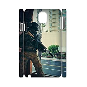 D-PAFD Diy Case Call Of Duty,customized Hard Plastic case For samsung galaxy note 3 N9000