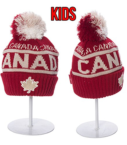 bec191a90 Robin Ruth - Maroon Canada Roots Vintage Kids Beanie