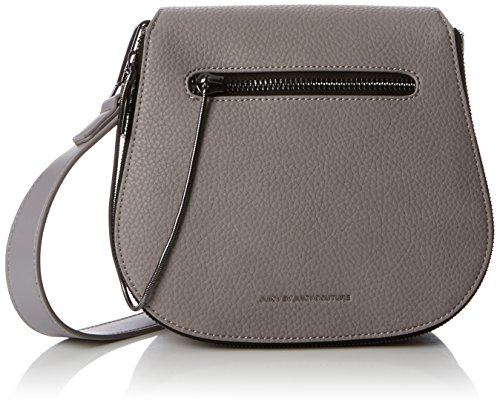 Juicy by Juicy Couture Womens Arleta Cross-Body Bag Grey (Grey Grainy)