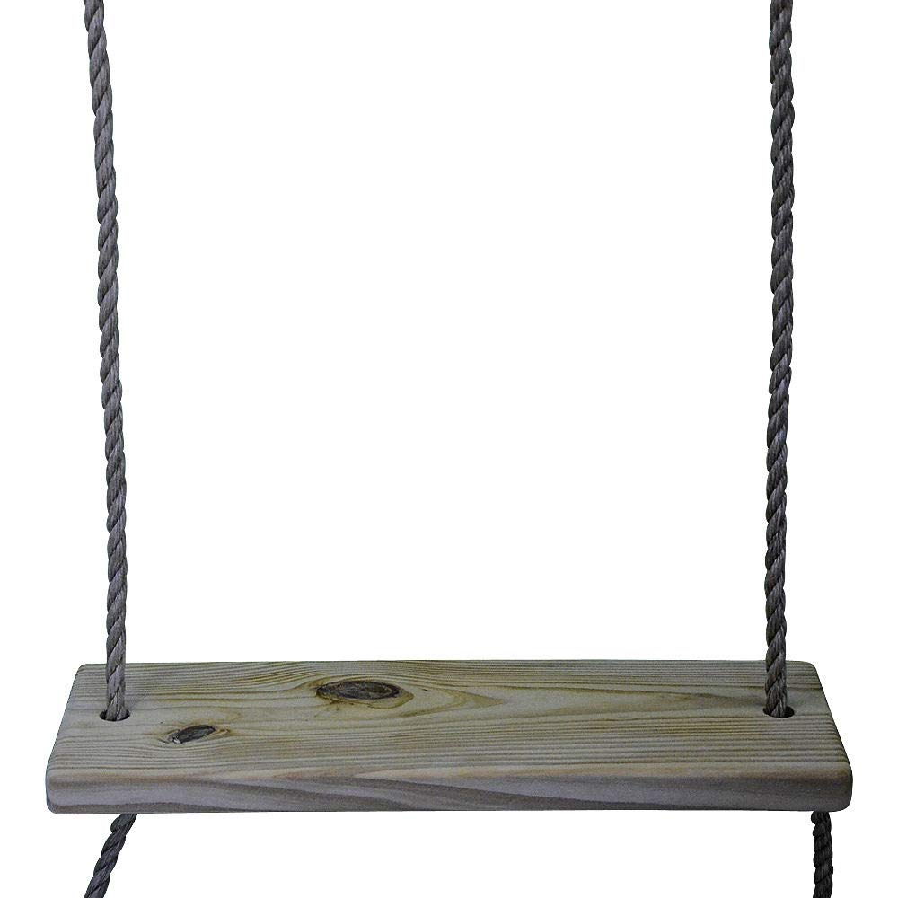 Carolina Custom Swings, LLC Standard 22'' 2 Hole Wooden Tree Swing Kids Adult Outdoor Indoor by Carolina Custom Swings, LLC