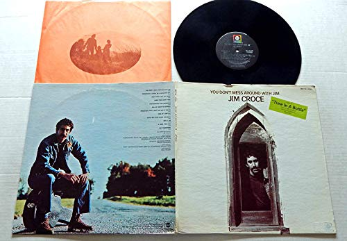 Jim Croce YOU DON'T MESS AROUND WITH JIM - ABC Records 1972 - USED Vinyl LP Record - 1972 Pressing ABCX-756 - Operator - Time In A Bottle - Photographs And Memories - New York's Not My Home (Jim Croce Don T Mess Around With Jim)