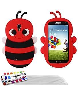 Muzzano F96137 - Funda para móvil Samsung Galaxy S4, color rojo
