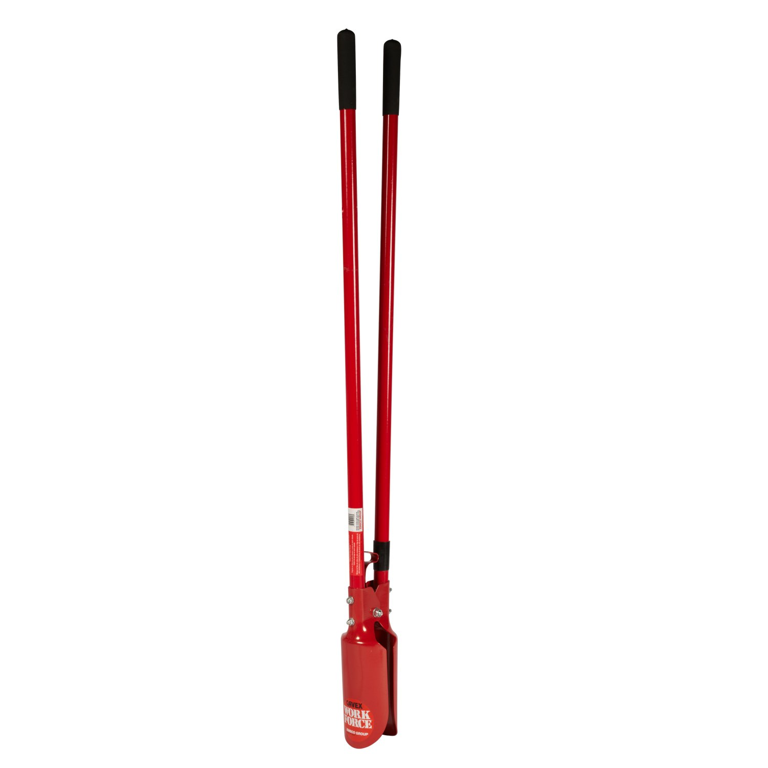 Emsco Group Workforce Post Hole Digger - 48'' Fiberglass Handle