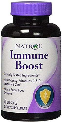 Natrol Immune Boost Capsule packs