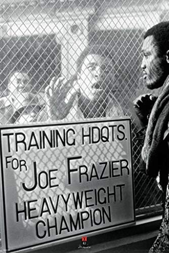 Pyramid America Muhammad Ali vs. Frazier Window Taunt Poster Print