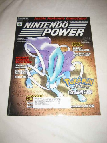 Nintendo Power V. 147 Aug. 2001 Pokemon Crystal Wave Race Blue Storm Super Smash Bros. Melee Mario Kart