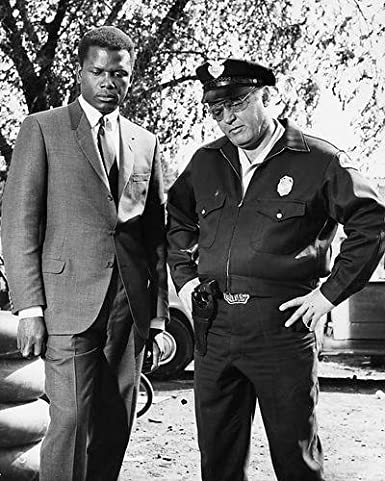 Sidney Poitier Rod Steiger In The Heat of the Night 8x10 Promotional  Photograph at Amazon's Entertainment Collectibles Store
