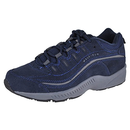 - Easy Spirit Women's Romy Sneaker, Navy, 9 M US