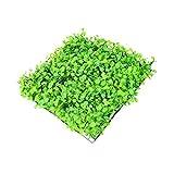 Colorido Artificial Lawn Grass Fish Tank Aquarium Plastic Water Plant Ornaments size 2 (Green)