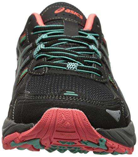 ASICS Women's Gel-venture 5 Running Shoe, Black/Aqua Mint/Flash Coral, 6 M US by ASICS (Image #4)