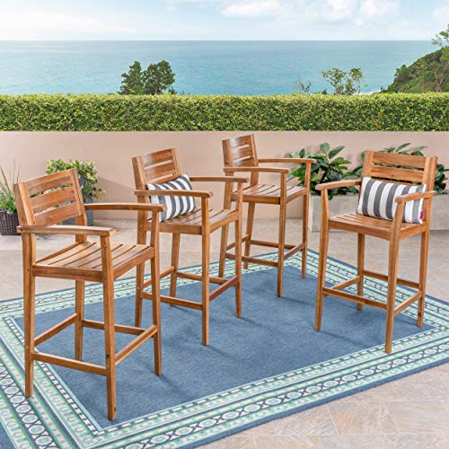 Great Deal Furniture Blair Outdoor Bar Stools | 30