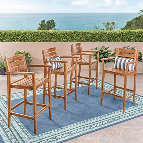 Great Deal Furniture Blair Outdoor Bar Stools | 30