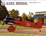img - for AAHS Journal: Travel Air Mystery Ship; on the Heels of War - Waterman Airlines Charter; Mcdonnell Douglas- Fokker Mdf- 100; Aircraft History of the Boeing 95; the Grumman Ea-6 Intruder book / textbook / text book