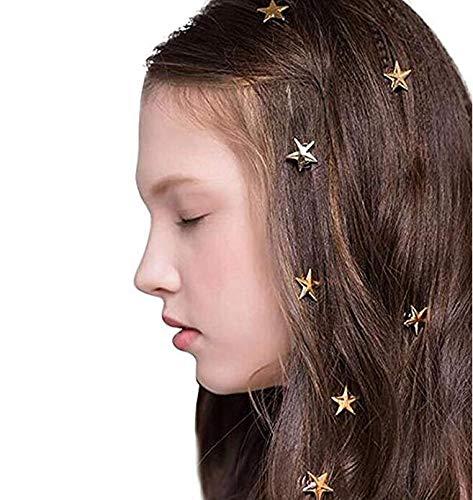 Missgrace Women Forest Style Super Star Hair Pins Bridal Headpiece Wedding Hair Clip Boho Hair Accessories Bohemian Hair Accessories(Pack of 5)