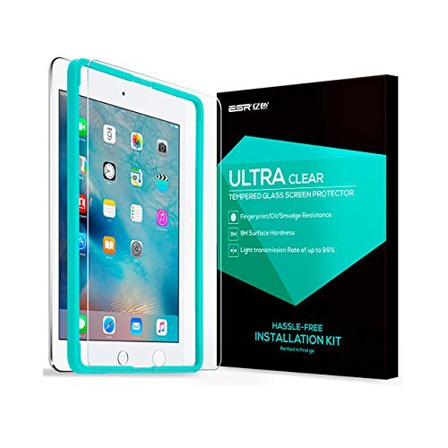 ESR iPad Pro 10.5 Screen Protector, [Free Installation Frame], Premium Tempered Glass Screen Protector for iPad Pro 10.5 inch by ESR