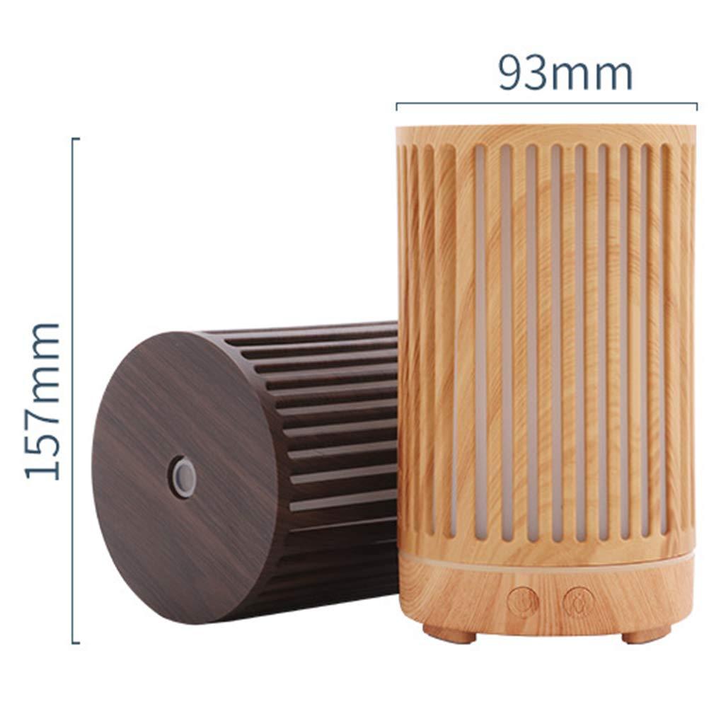 Linterna Humidificador 1L Grano De Madera Hueca Humidificador Aromaterapia Escritorio Hogar Humidificador De Aire del Coche De Silencio Silencio,1