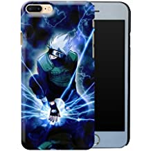 iPhone 7 Plus Case, Hard Slim Shell Unique Japanese Anime Naruto Shippuden Kakashi Cool Pattern Design Scratch Resistant Shock Proof Glossy Protective Cover for Apple iPhone 7Plus 5.5 inch