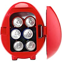 Smad Car Thermoelectric Cooler Warmer with Cigarette Lighter Plug, 4 Liter
