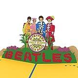 Lovepop Beatles Pop Up Card, 3D Card, Birthday