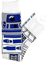 Star Wars R2-D2 Junior/Women's Knee High Socks Size 4-10 White