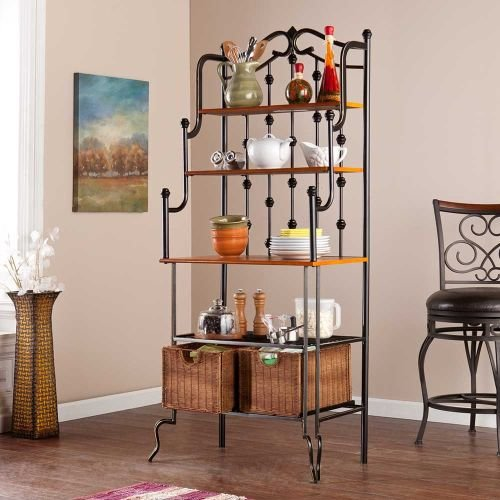 Holly and Martin Carlsbad Baker's Rack in Black by Holly & Martin