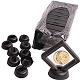 Coin Display Stand - Set of 10 3D Floating Frame