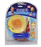 As Seen On TV Grater Plater Ceramic Cheese Garlic Plate