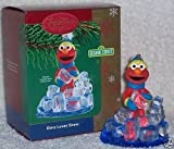 Sesame Street - Elmo Loves Snow 2004 Carlton Cards Christmas Ornament