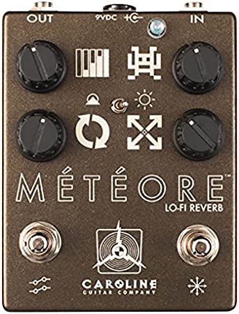 Pedal Reverb Carolina Guitar Company – meteoro: Amazon.es ...
