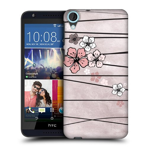 Head Case Designs Paper Cherry Blossoms Protective Snap-on Hard Back Case Cover for HTC Desire 820