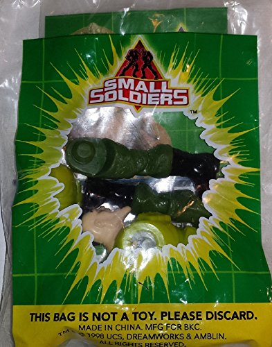 BURGER KING Kids Meal Toy - SMALL SOLDIERS COMMANDO ELITE: NICK NITRO [TOY]