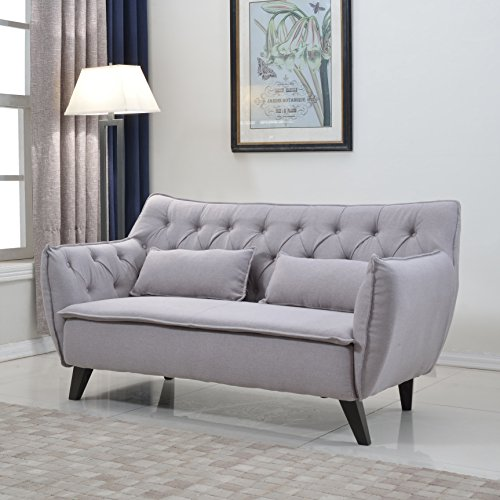 Divano Roma Furniture Century Loveseat