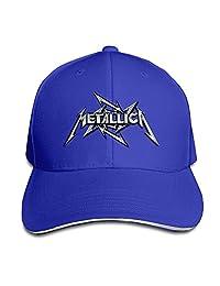 P-Jack Metallica Mental Band Sport Outdoor Travel Cap Black