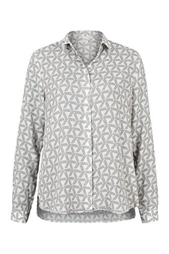 ETERNA long sleeve Blouse MODERN FIT printed gris