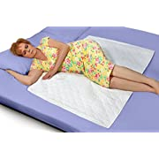 Premium Quality Bed Pad, Quilted, Waterproof, and Washable , 34  x 52  The Best Underpad Sheet Protector for Children or Adults with Incontinence