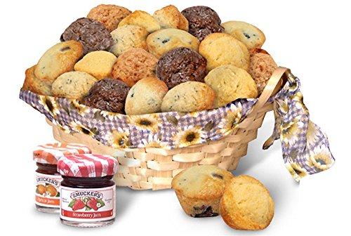 Mini Muffin Banana (Simply Scrumptous Just Jammin' Gift Muffin Basket)