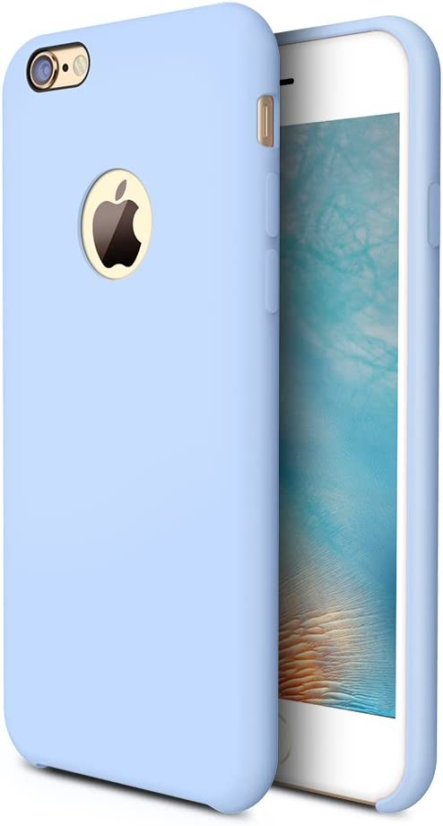 TORRAS [Love Series] iPhone 6S Plus Case/iPhone 6 Plus Case, Liquid Silicone Rubber Gel Soft Microfiber Cushion Shockproof Case Compatible with iPhone ...