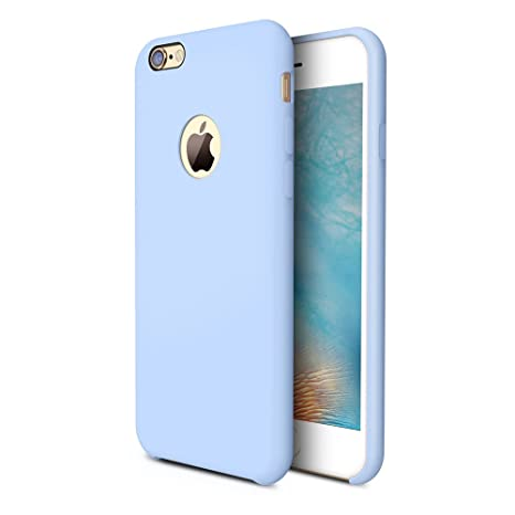 torras-[love-series]-iphone-6s-plus-case_iphone-6-plus-case,-liquid-silicone-rubber-gel-soft-microfiber-cushion-shockproof-case-compatible-with-iphone-6-plus_iphone-6s-plus,-light-blue by torras