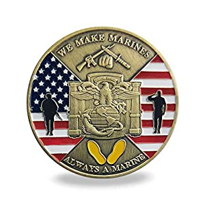 US MCRD San Diego Challenge Coin Marine Corps Recruit Depot Military Collection by FunYan
