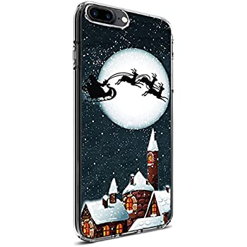 slim fit case for iphone 8 plus iphone 7 plus 55 inch bright full moon