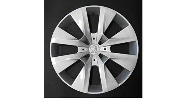 Wheeltrims Set de 4 embellecedores Peugeot 208 2012> con Llantas Originales de 15: Amazon.es: Coche y moto