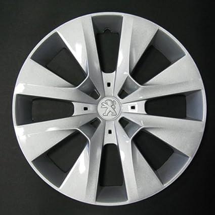 Wheeltrims Set de 4 embellecedores Peugeot 208 2012> con Llantas Originales de 15: Amazon.es: Coche y moto